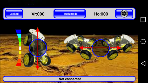 Arduino & IRacer Bt controller screenshot 6