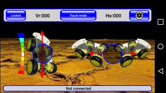 IRacer & Arduino BT controller screenshot 5