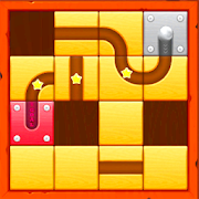 Slide Puzzle: Unblock the Rolling Ball