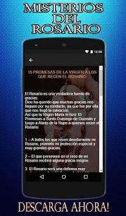 Misterios del Rosario: Misterios del santo Rosario - náhled
