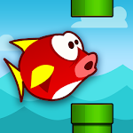 Flappy Fins Icon