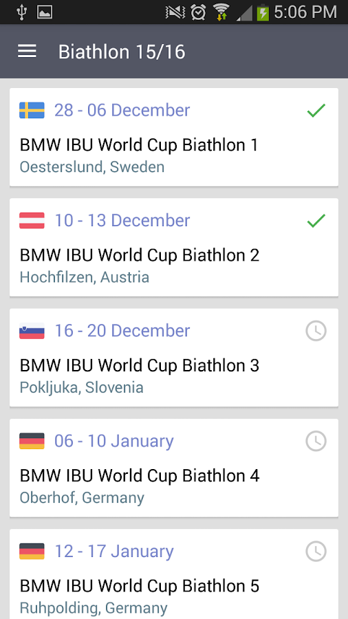 Biathlon 2017-2018- screenshot