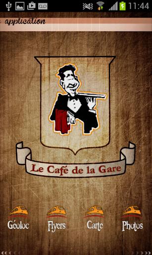 Le Cafe de la gare ST Leu