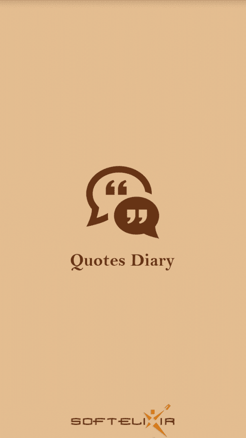 Quotes Diary- screenshot