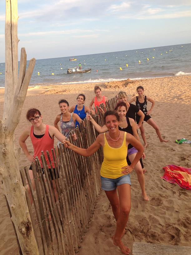 Image soirée plage privatisée