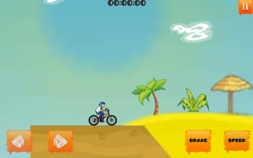 Crazy Bicycle Stunts Game apkmind screenshots 3