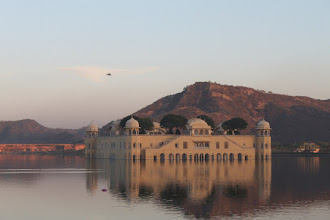 Photo: Jal Mahal...missed the setting sun by three minutes so this is the best pic I managed