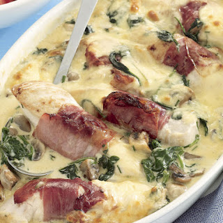 Chicken Florentine with Mozzarella