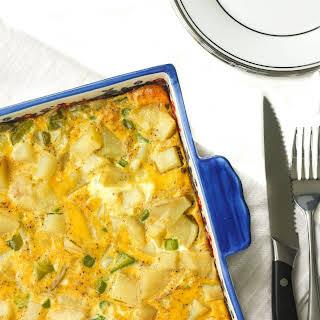 Egg and Potato Breakfast Casserole.