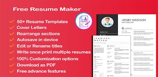 Appgrooves Compare Free Resume Maker Cv Maker Templates Formats
