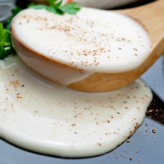Meatless Monday Strictly Paleo Slow Cooked Bechamel Sauce.