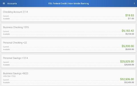 ESL Mobile Banking screenshot 5