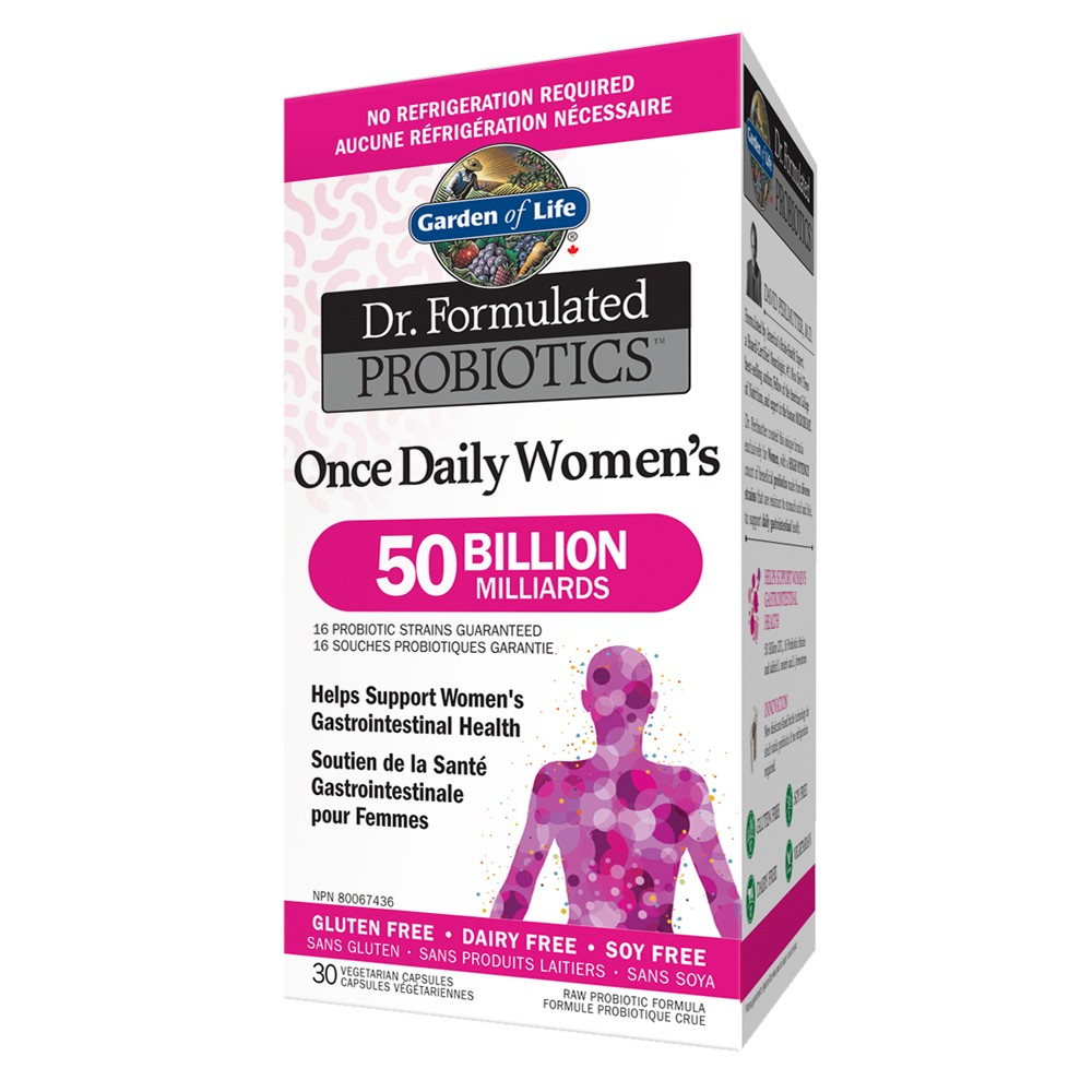 Garden of Life Dr. Formulated Probiotics Once Daily Women's 50 Billion
