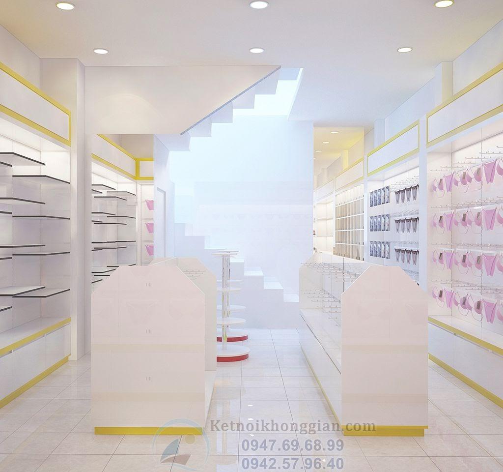thiết kế nội thất cửa hàng tạp hóa đa dạng