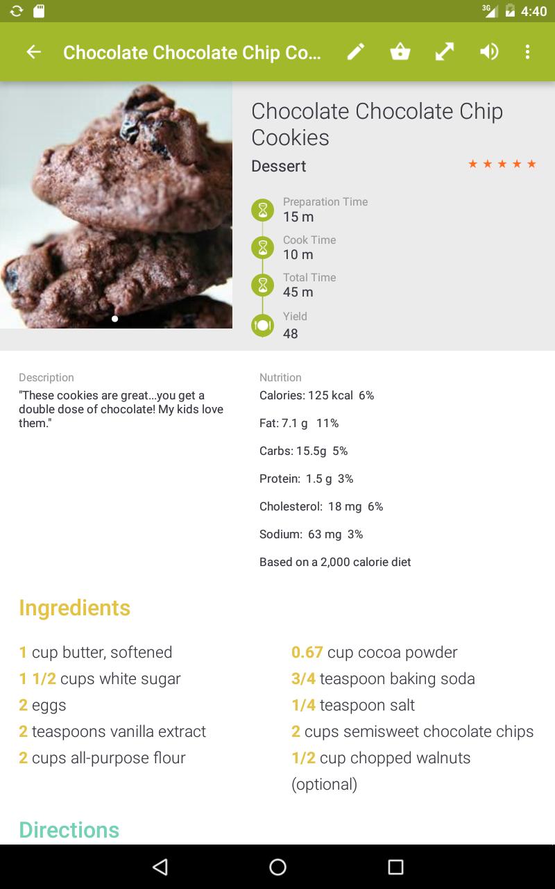 My CookBook Pro (Ad Free) screenshot #11