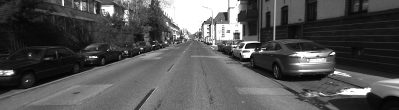 Photo: Source image - first left image from dataset 2010_03_09_drive_0019. Whole gallery licensed under cc-by-nc-sa 3.0 with this source:http://www.cvlibs.net/datasets/karlsruhe_sequences/