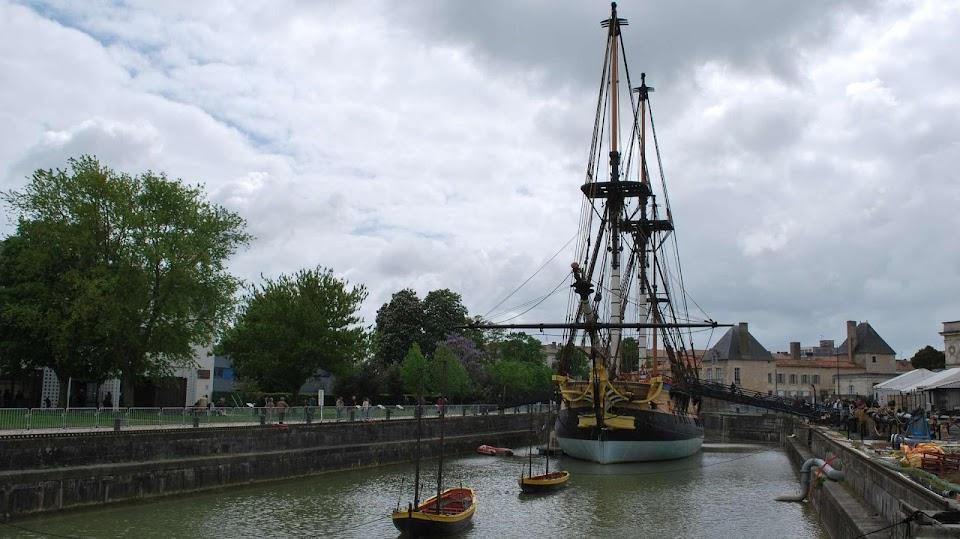 Rochefort : le chantier naval