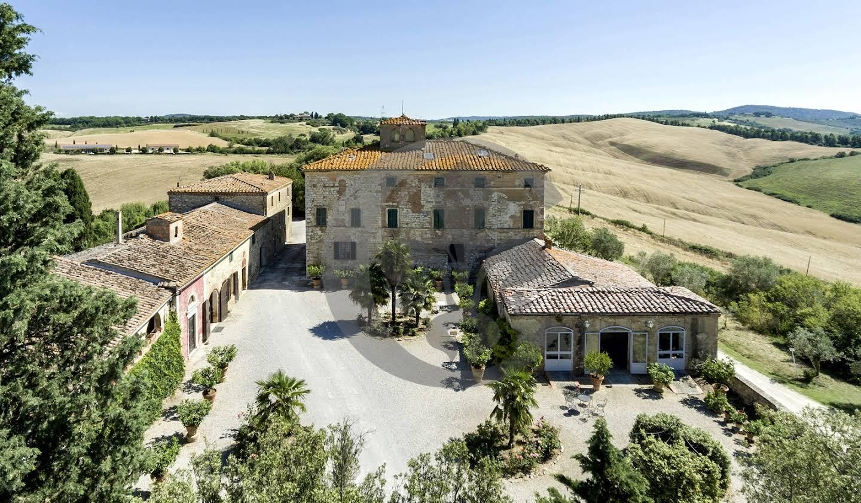 Vineyard with pool Trequanda