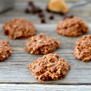 Healthy No-Bake Chocolate Peanut Butter Cookies
