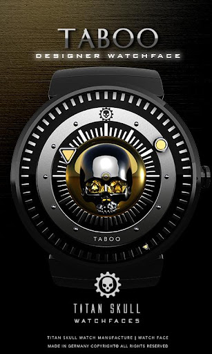 Taboo Watch Face