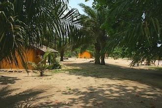 Photo: Bungalows at Ezile bay Village, western region, Ghana ezilebay.com
