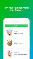 screenshot of LINE Creators Studio