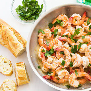 15 Minute Buttery Garlic Shrimp.