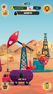 Idle Oil Tycoon: Gas Factory Simulator Mod Apk 4.1.9 (Inexhaustible Money) 4