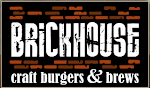 Logo for Brickhouse Craft Burgers and Brews