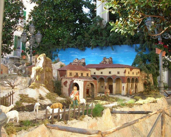 Il presepe in città di kenyon