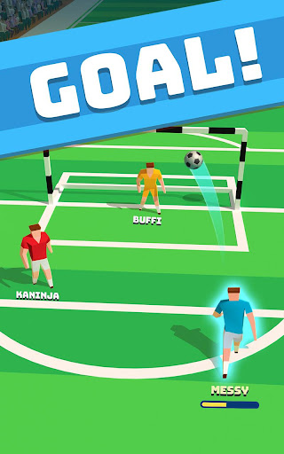 soccer hero - endless football run screenshot 3