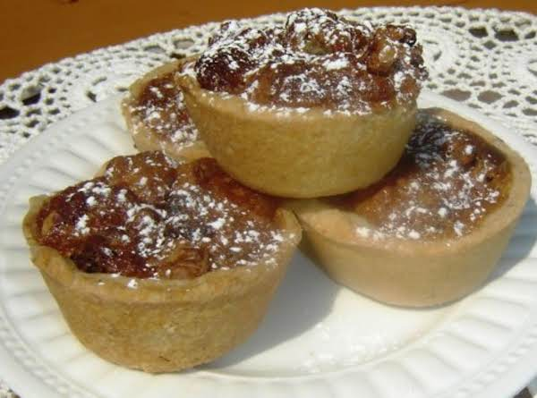 Walnut/pecan Tarts Recipe