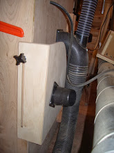 Photo: And it stores neatly out of the way when not in use - an important feature I try to incorporate into ALL my shop projects...