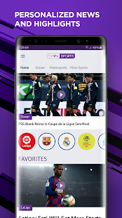 beIN SPORTS Screenshot