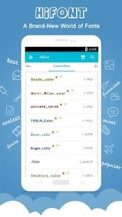 HiFont – Cool Fonts Text Free + Galaxy FlipFont 2