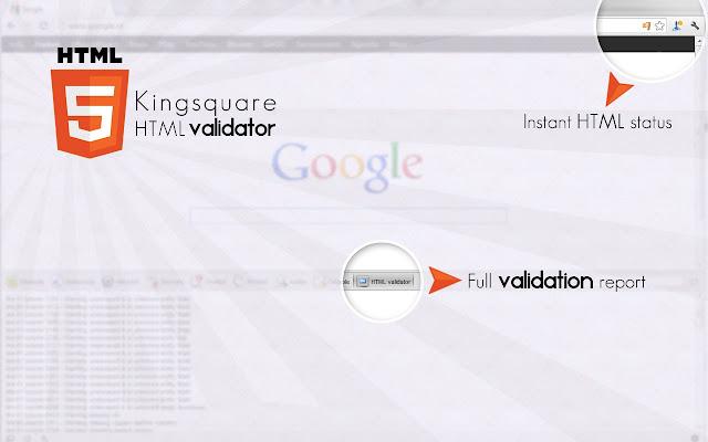 Kingsquare HTML Validator
