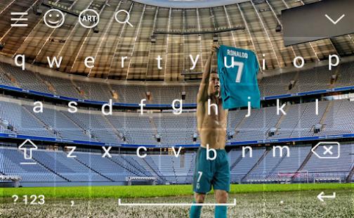 keyboard for CR7 Cristiano Ronaldo 2018 - náhled