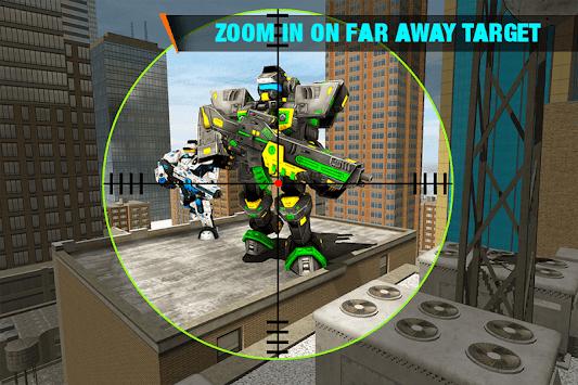 Real Robot Shooting Game - Fighting & FPS Shooter apk screenshot