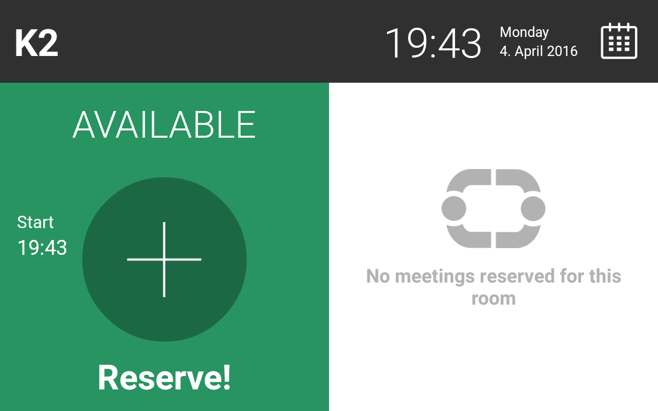 Meeting Room App Exchange