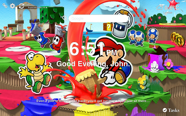 Paper Mario: The Origami King Wallpapers