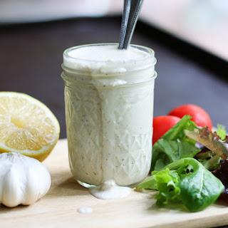 Creamy Parmesan Salad Dressing.