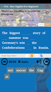 Learn English S+plus, Slow Easy News with VOA, BBC - náhled