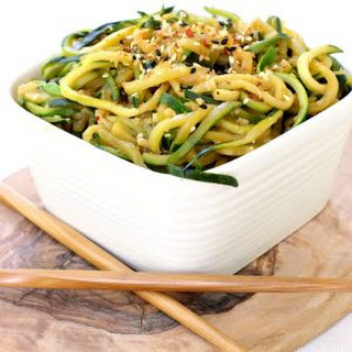 Asian Noodles Zucchini Recipes