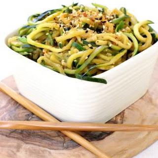Asian Zucchini Noodles.