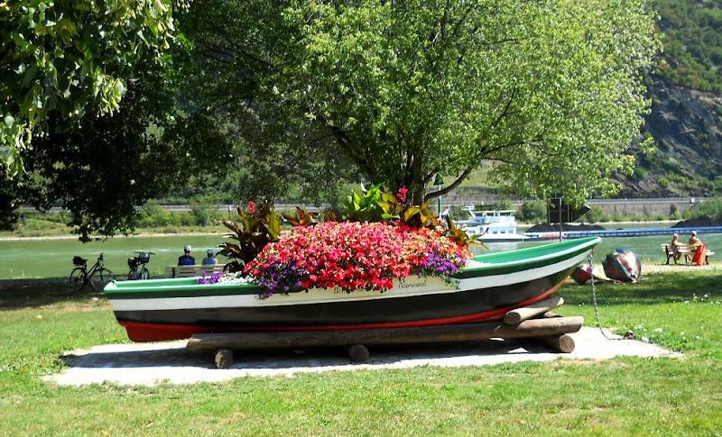 La barca in fiore di Rossella Valitutti