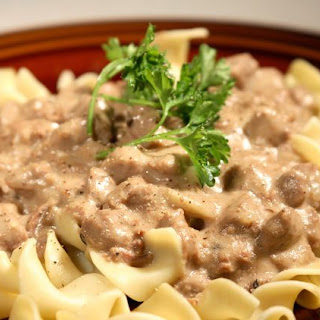 Weight Watchers Hamburger Stroganoff