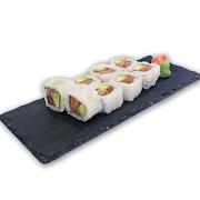 87. Salmon & Avocado Sushi Roll