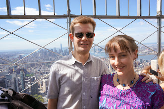 Photo: Top of the Empire State Building