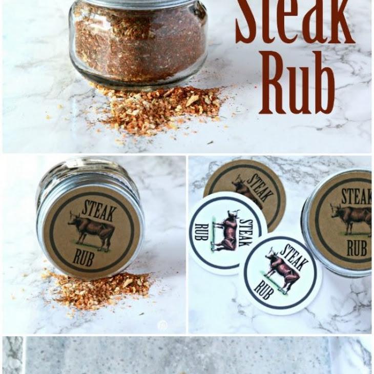 Steak Seasoning Dry Rub Recipe