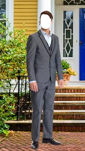 Muž módní foto oblek editor - náhled